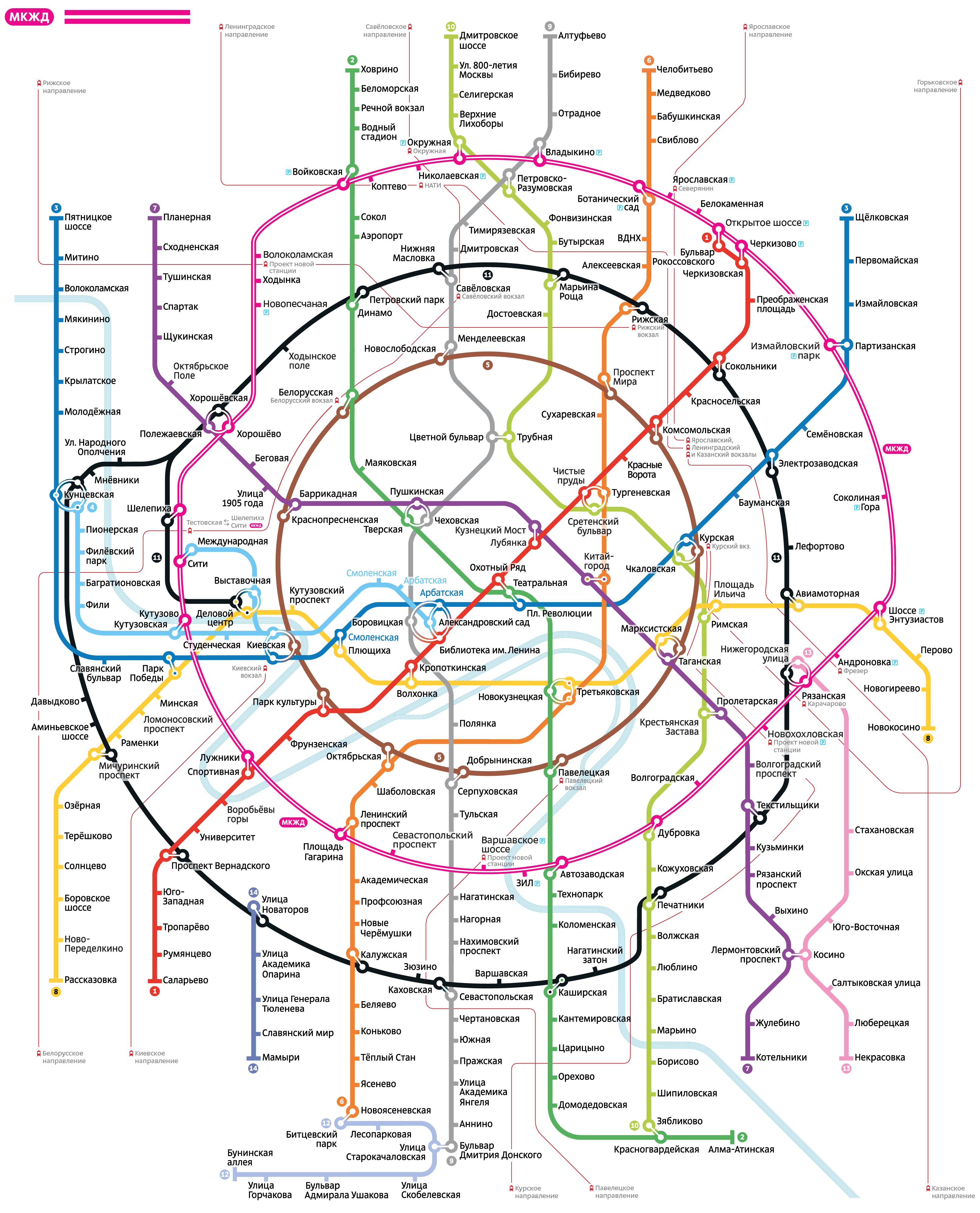 карта ювао москвы схема шоссе